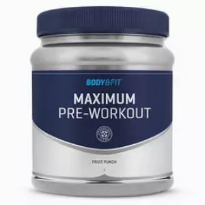 maximum pre workout